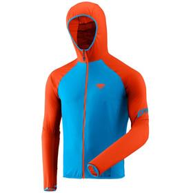 Dynafit Alpine Waterproof Chaqueta de 2,5 capas Hombre, Turquesa/naranja